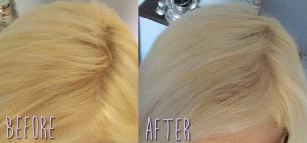 roots_before_and_after_manic_panic_toner